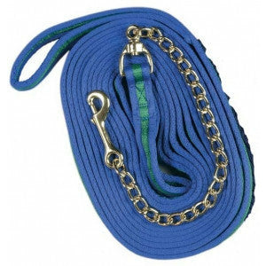 Centaur Padded 25' Lunge Line With Chain - CarouselHorseTack.com