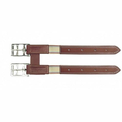 Camelot Leather Girth Extender with Elastic - CarouselHorseTack.com