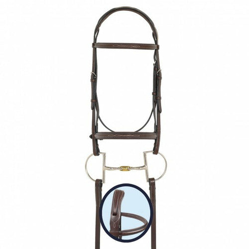 Ovation RCS Fancy Stitched Padded Bridle - CarouselHorseTack.com