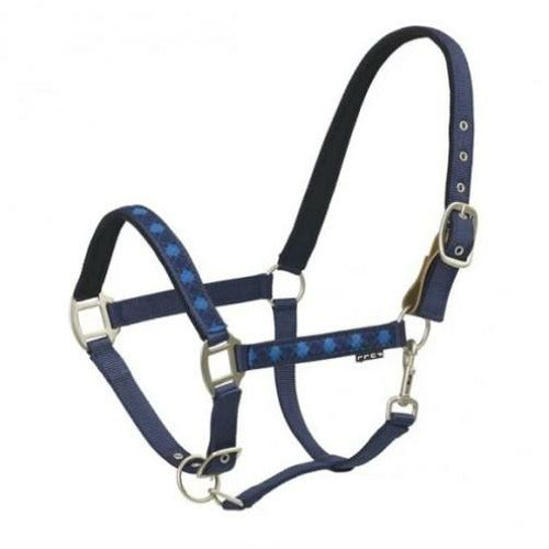 Centaur Argyle Padded Breakaway Turnout Halter