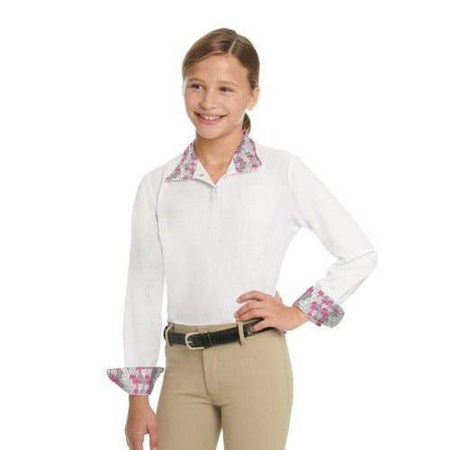 Ovation Child's Ellie II DX Long Sleeve Show Shirt
