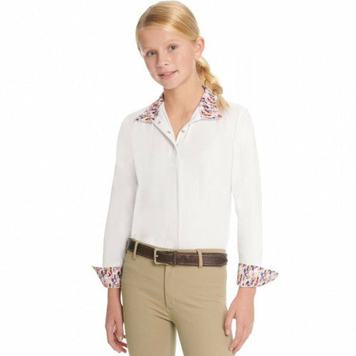 Ovation Ellie II Child's Tech Show Shirt - CarouselHorseTack.com