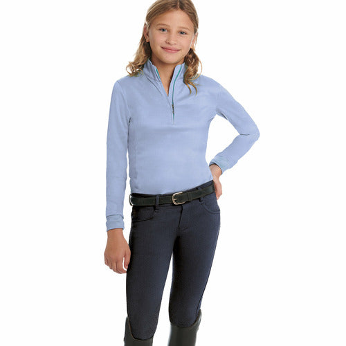 Ovation Childrens SoftFlex Silicone Knee Patch Breeches