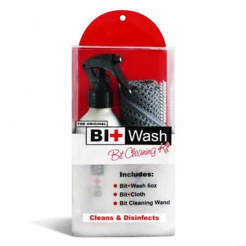 Equine Healthcare International Original Bit Wash Bit Cleaning Kit - 6 oz.