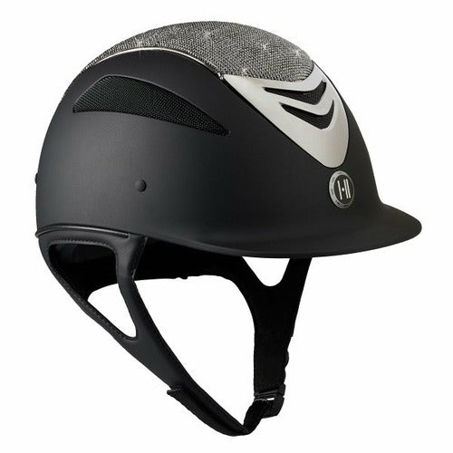 One K Defender Glamour Chrome Stripe Helmet CLOSEOUT