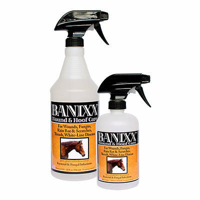 Banixx Hoof and Wound Care Spray - CarouselHorseTack.com