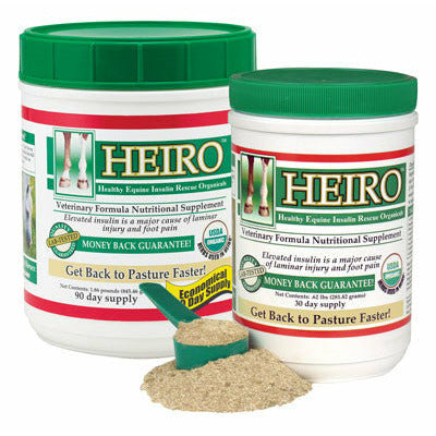 HEIRO Equine Insulin Resistance Supplement 40 Day - CarouselHorseTack.com