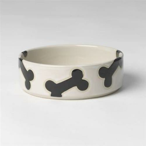 PetRageous Designs Slicker Bones Dog Bowl - 2.5 cups