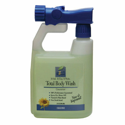 eZall Green Total Body Wash 32 oz Sprayer - CarouselHorseTack.com