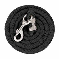 Weaver 10' Poly Lead Rope with Chrome Brass Snap