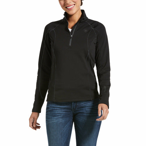 Ariat Womens Conquest 2.0 1/2 Zip Sweater CLOSEOUT
