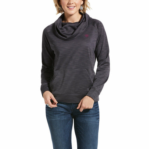 Ariat Womens Conquest Cowlneck Sweatshirt CLOSEOUT