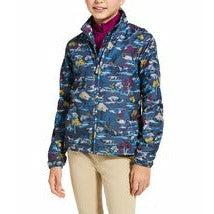 Ariat Youth Laurel Insulated Jacket Hunt Print CLOSEOUT