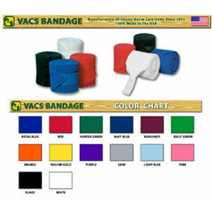 Vac's Deluxe Polo Bandages - CarouselHorseTack.com