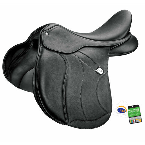 Bates WIDE All Purpose Plus Saddle with Luxe Leather