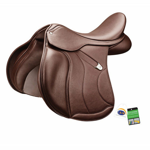 Bates All Purpose Plus Saddle with Luxe Leather - CarouselHorseTack.com