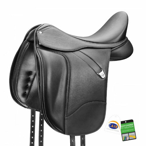 Bates Dressage Saddle Plus with Luxe Leather - CarouselHorseTack.com