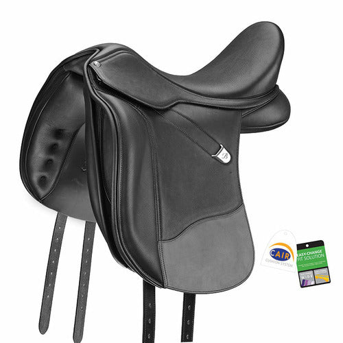 Bates WIDE Dressage Plus Saddle with Luxe Leather