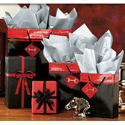 Horseshoe Gift Packaging Polished Bits Gift Bags - CarouselHorseTack.com