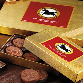 Dark Horse Chocolate 8pc Collection - CarouselHorseTack.com
