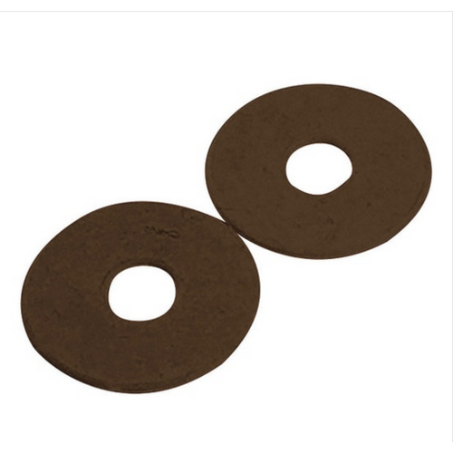 KORSTEEL RUBBER BIT GUARDS PAIR BROWN