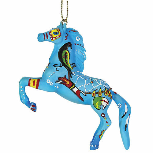 Trail of Painted Ponies Native Dreamer Ornament