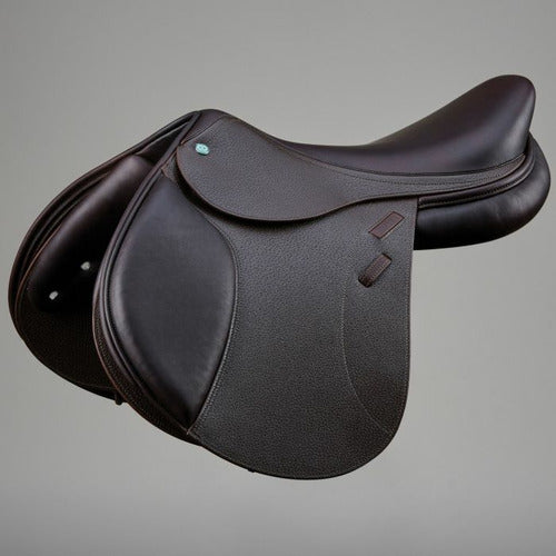 Crosby Prix De Nation Deep Seat Close Contact Saddle w/ Solid Leather