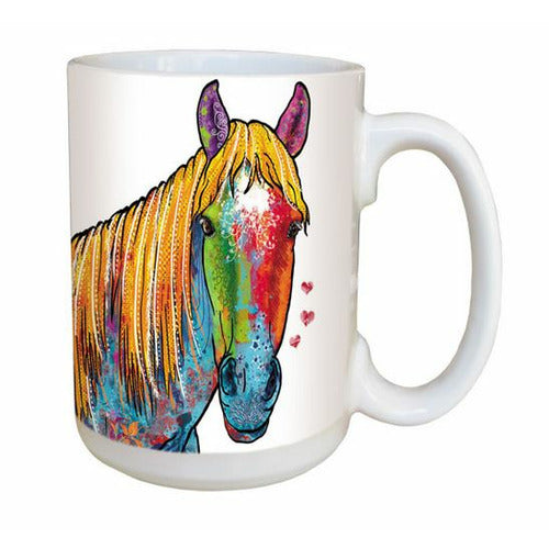 Ceramic Mug - Multicolor Horse