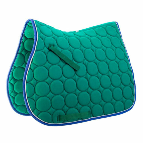 Roma Circle Quilt All Purpose Saddle Pad - CarouselHorseTack.com