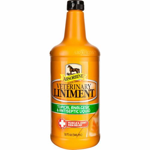 Absorbine Veterinary Liniment 32 oz - CarouselHorseTack.com