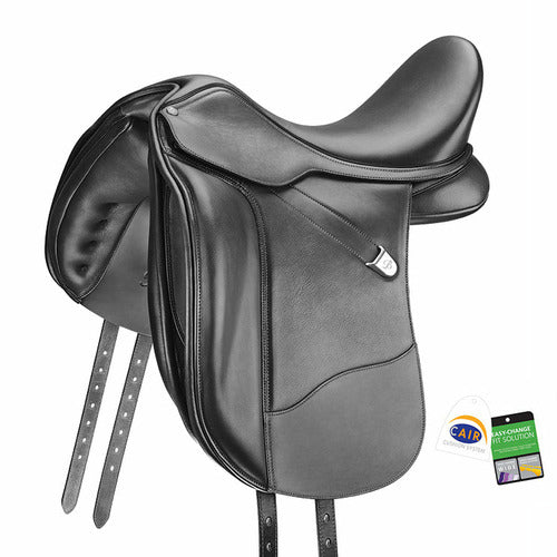 Bates WIDE Dressage Plus Saddle with FREE GIFT