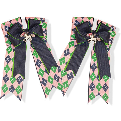 Belle and Bow Equestrian Horseshow Hair Bows - Bows