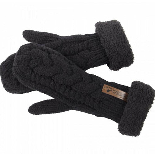 CATAGO Ladies Knitted Mittens