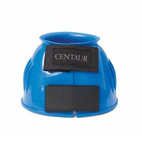 Centaur PVC Ribbed Double Hook & Loop Bell Boots