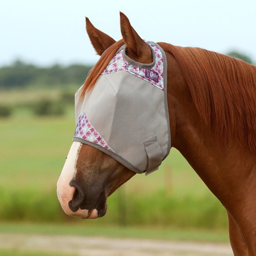 Cashel Crusader Patterned Standard Fly Mask without Ears