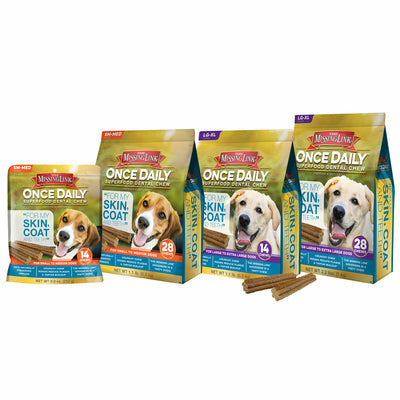 Missing Link Once Daily Skin & Coat Superfood Dental Chew - CarouselHorseTack.com