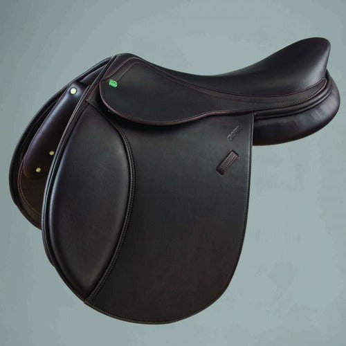 Crosby Equitation Medium/Deep Seat Close Contact Jump Saddle w/ Covered Leather