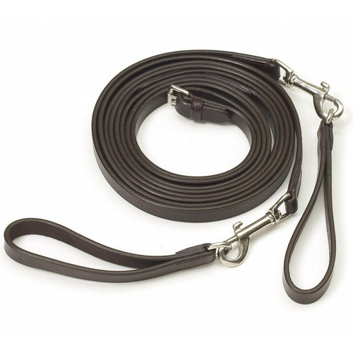 Camelot Leather Draw Reins - CarouselHorseTack.com