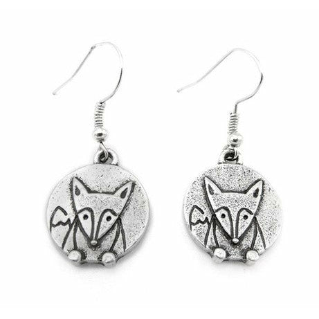 Lilo Collections Silver & Silver Plated Earrings