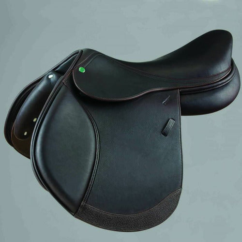 Crosby Hunter Jumper Medium/Deep Seat Close Contact Jump Saddle w/ Covered Leather