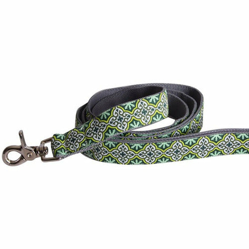 Molly Mutt Dog Leash-Leaves of Grass - CarouselHorseTack.com