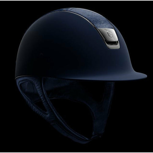 Samshield Blue Shadow Matt Top Shimmer Helmet