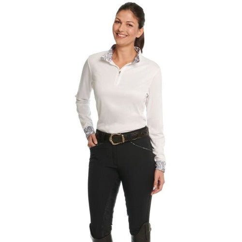 Ovation Ladies Destiny Super-X Paisley GRIP Full Seat Breech