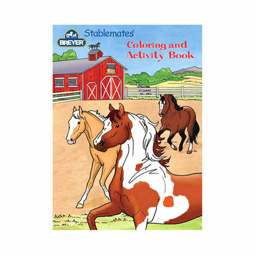 Breyer Stablemates Coloring & Activity Book - CarouselHorseTack.com