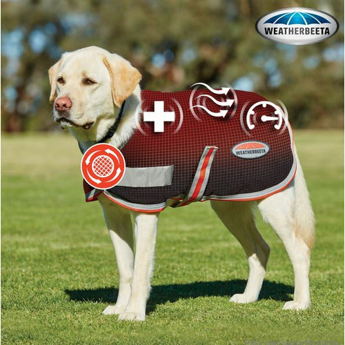 WeatherBeeta Therapy-Tec Fleece Dog Coat