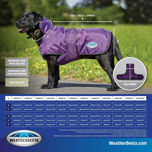 WeatherBeeta ComFiTec Tweed Dog Coat II SALE