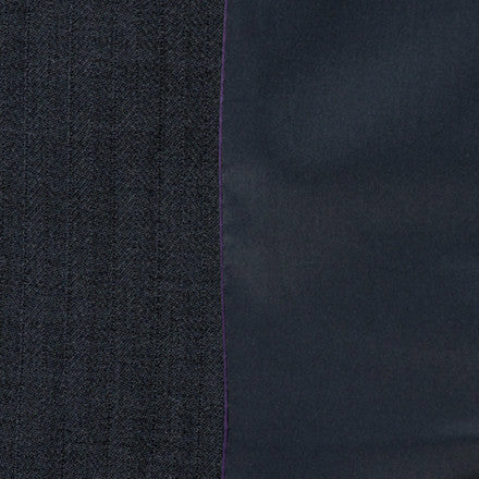 RJ Classics Collection Washable Childs Show Coat  Navy Herringbone - CarouselHorseTack.com