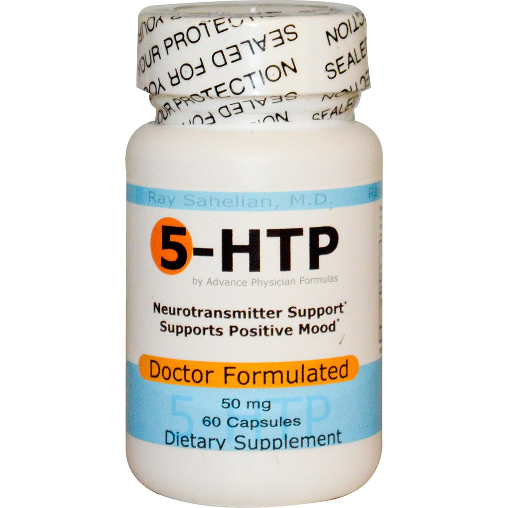 5-HTP, 50 mg, 60 Capsules, Increase Serotonin Supplement
