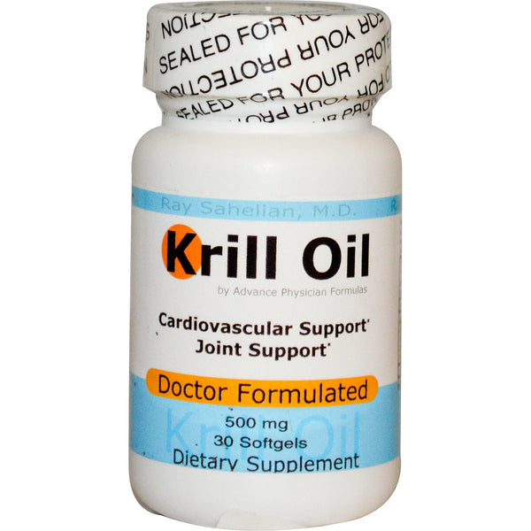 Krill Oil, 500 mg, 30 Softgels
