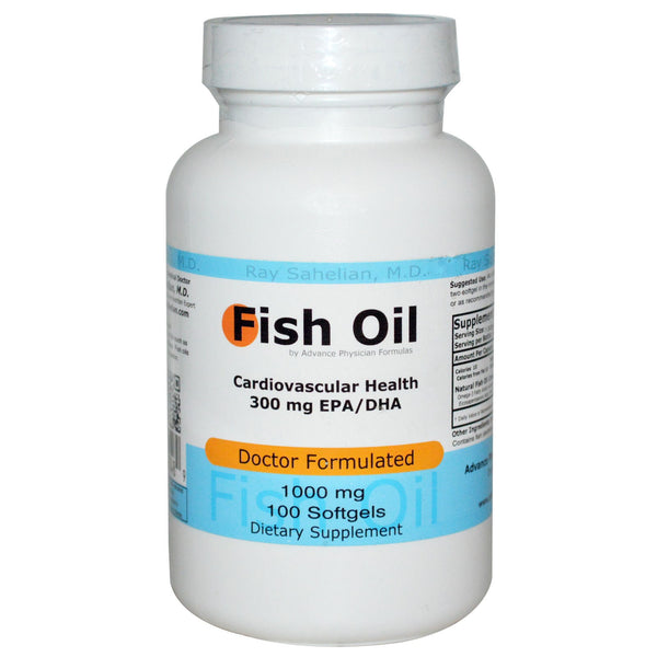 Fish Oil, 1000 mg, 100 Softgels